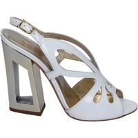 Schuhe Damen Sandalen / Sandaletten Me + By Marc Ellis BP122 Weiß
