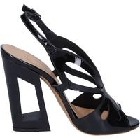 Schuhe Damen Sandalen / Sandaletten Me + By Marc Ellis BP125 Schwarz