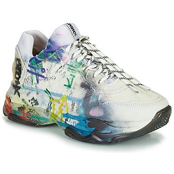 Schuhe Damen Sneaker Low Bronx BAISLEY Weiss