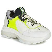 Schuhe Damen Sneaker Low Bronx BAISLEY Weiss / Gelb
