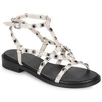 Schuhe Damen Sandalen / Sandaletten Bronx THRILL Weiss