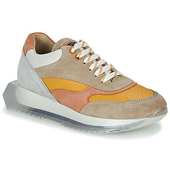 Schuhe Damen Sneaker Low Bronx LINKK-UP Maulwurf / Rose / Grau