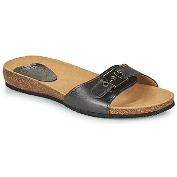 Schuhe Damen Pantoffel Scholl BAHAMAIS Schwarz
