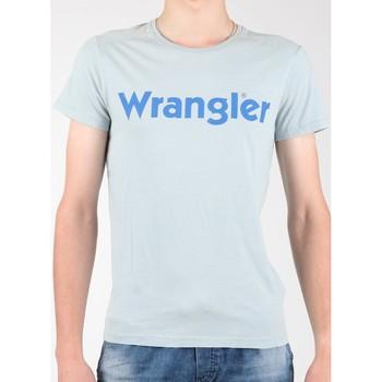 Kleidung Herren T-Shirts Wrangler T-Shirt  S/S Graphic Tee W7A64DM3E grau