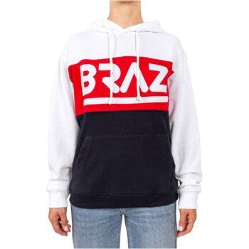 Kleidung Damen Sweatshirts Braz 120974TSH Weiss
