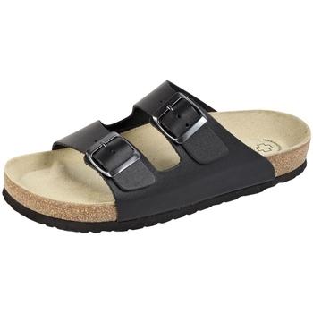 Schuhe Herren Pantoffel Weeger Bio Pantol. Art. 41110-20 schwarz