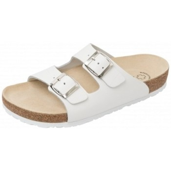 Schuhe Damen Pantoffel Weeger Bio Pantol. Art. 41110-10 weiß
