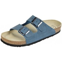 Schuhe Damen Pantoffel Weeger Bio Pantol. Art. 41110-30 ozean