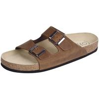 Schuhe Pantoffel Weeger Bio Pantol. Art. 41110-40 braun