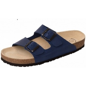 Schuhe Pantoffel Weeger Bio Pantol. Art. 41110-31 royal gepr