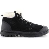 Schuhe Damen Schneestiefel Palladium Manufacture Pampa LO WT Schwarz