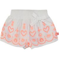 Kleidung Mädchen Shorts / Bermudas Billieblush / Billybandit NEYO Weiss