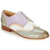 Schuhe Damen Derby-Schuhe Melvin & Hamilton SALLY 15 Blau / Weiss / Beige