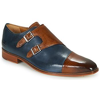 Schuhe Herren Richelieu Melvin & Hamilton LANCE 34 Blau / Braun