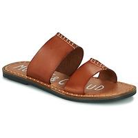 Schuhe Damen Pantoffel Musse & Cloud LESLIE Cognac