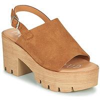 Schuhe Damen Sandalen / Sandaletten Musse & Cloud TAIKI Cognac