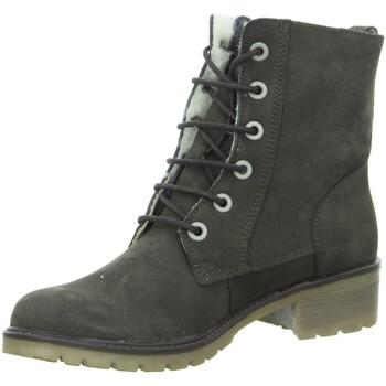 Schuhe Damen Schneestiefel Longo Stiefeletten 1014367/7 grau