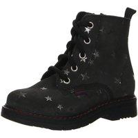 Schuhe Mädchen Boots Richter Stiefel 4653-641-6500 steel Velourdruck 4653-641-6500 grau