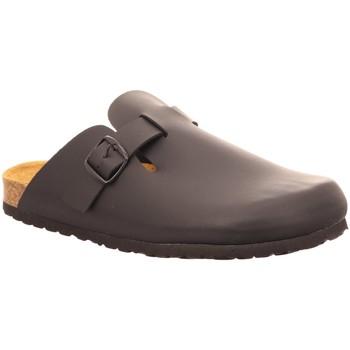 Schuhe Herren Pantoletten / Clogs Longo Offene 1006331 1006331 schwarz