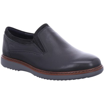 Schuhe Herren Slipper Sioux Slipper 37230 schwarz