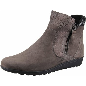 Schuhe Damen Boots Aco Stiefeletten braunbeige 227/6123W-4029 Sina 33 grau