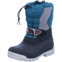 Schuhe Jungen Schneestiefel Meindl Winterstiefel Snowy 3000 7795-44 silber 7795-44 blau
