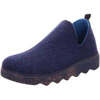 Schuhe Damen Hausschuhe Rohde 6124/54 blau