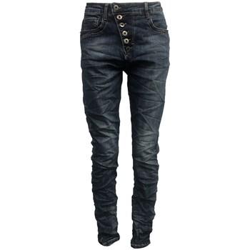 Kleidung Damen Slim Fit Jeans By La Vitrine Jeans bleu B3021-N Blau