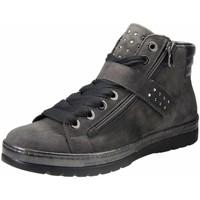 Schuhe Damen Sneaker High Semler Schnuerschuhe Ruby R85353 441 007 grau