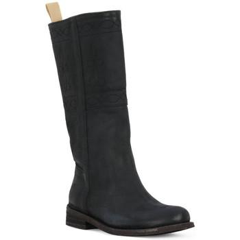Schuhe Damen Klassische Stiefel Felmini BLACK CRONO Nero
