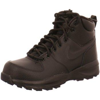 Schuhe Damen Boots Nike Stiefeletten  MANOA LEATHER BQ5372-001 (1037792) schwarz