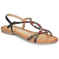 Schuhe Damen Sandalen / Sandaletten Gioseppo PARISH Schwarz / Rot