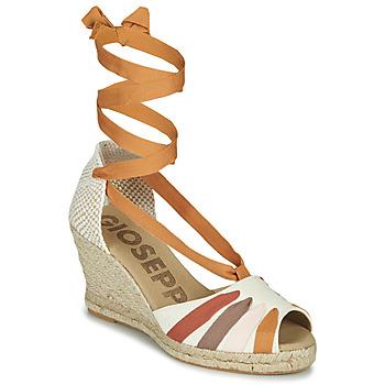 Schuhe Damen Sandalen / Sandaletten Gioseppo ARLEY Naturfarben / Senf