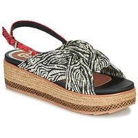 Schuhe Damen Sandalen / Sandaletten Gioseppo NEVELE Schwarz / Rot