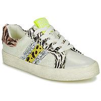 Schuhe Mädchen Sneaker Low Gioseppo TIRRENIA Weiss / Gelb / Silbern