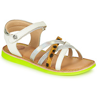 Schuhe Mädchen Sandalen / Sandaletten Gioseppo STAGGIA Weiss / Gelb