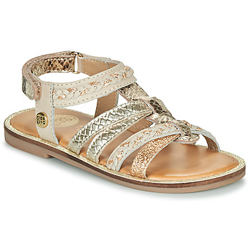 Schuhe Mädchen Sandalen / Sandaletten Gioseppo PIGNOLA Beige / Gold