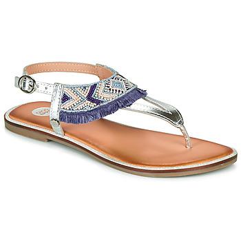 Schuhe Mädchen Sandalen / Sandaletten Gioseppo BERMUDAS Blau / Weiss
