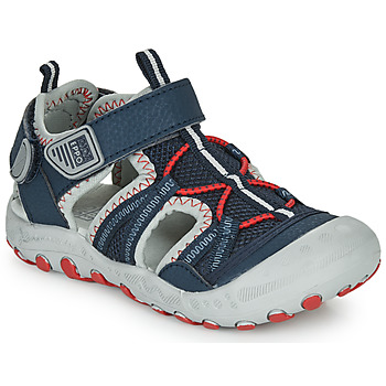 Schuhe Jungen Sportliche Sandalen Gioseppo MAZATLAN Marine / Rot
