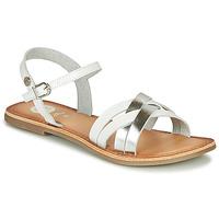 Schuhe Mädchen Sandalen / Sandaletten Gioseppo GISTEL Weiss / Silbern