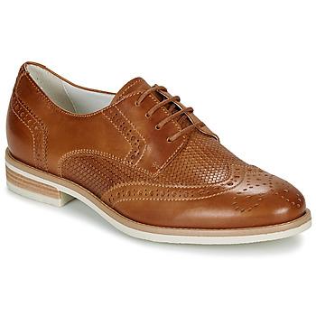 Schuhe Damen Derby-Schuhe André BEKKI Camel
