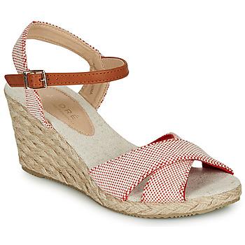 Schuhe Damen Sandalen / Sandaletten André PAULETTA Rot