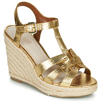 Schuhe Damen Sandalen / Sandaletten André PERLINE Gold