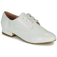 Schuhe Damen Derby-Schuhe André ERNESTINE Weiss