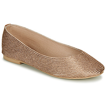 Schuhe Damen Ballerinas André PAPAYA Gold