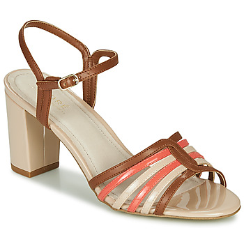 Schuhe Damen Sandalen / Sandaletten André PARISSE Mehrfarbig