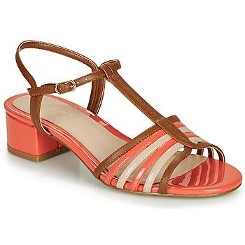 Schuhe Damen Sandalen / Sandaletten André PARISETTE Mehrfarbig