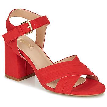 Schuhe Damen Sandalen / Sandaletten André JACYNTH Rot
