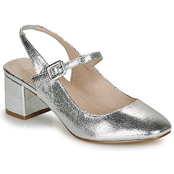 Schuhe Damen Ballerinas André JONNA Silbern