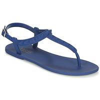 Schuhe Damen Sandalen / Sandaletten André HADEWIG Marine